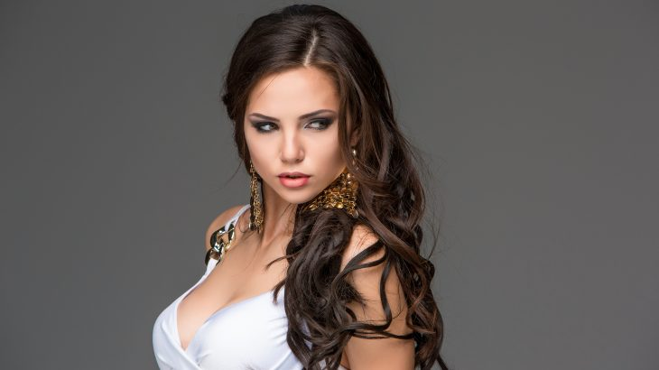 Sexy young Turkish woman