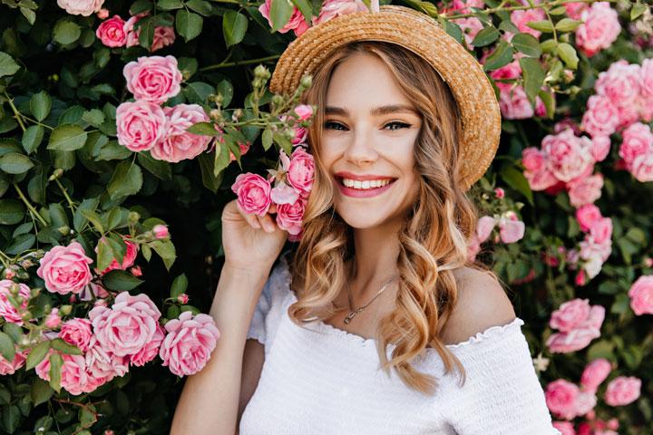 Ukrainian smiling happy girl