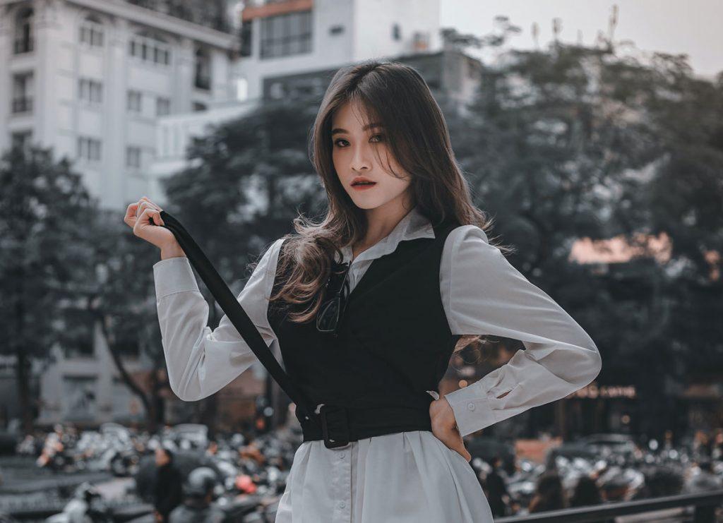 Chinese passionate girl