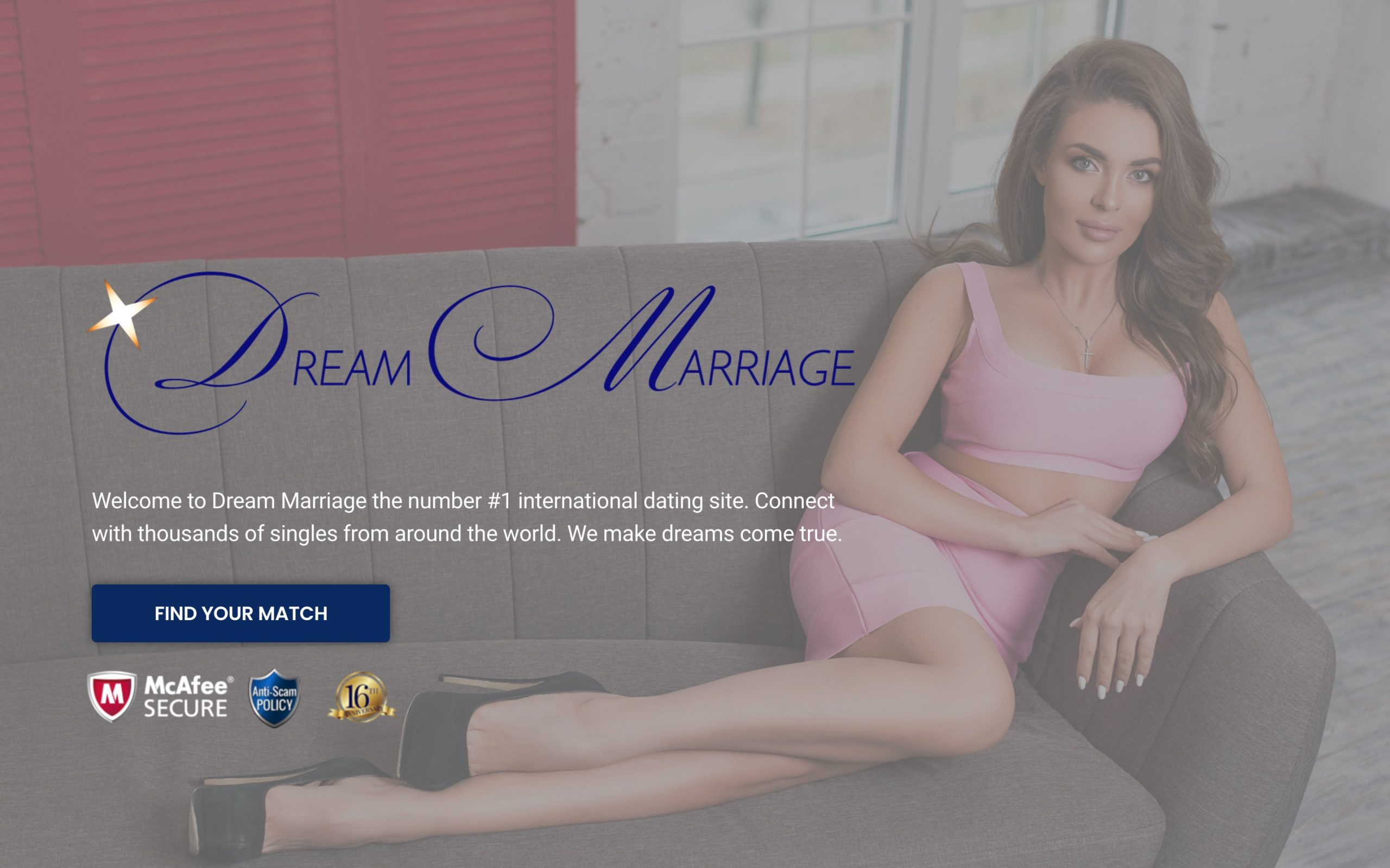 DreamMarriage main page